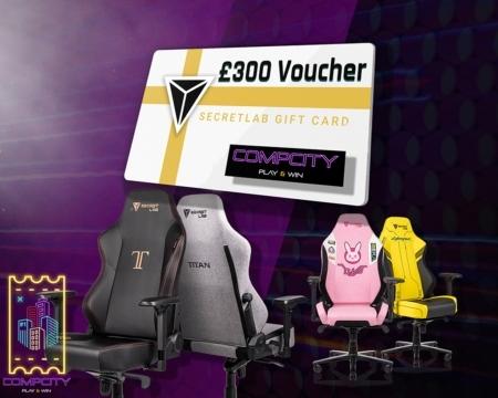 Secretlab £300 Voucher Competition