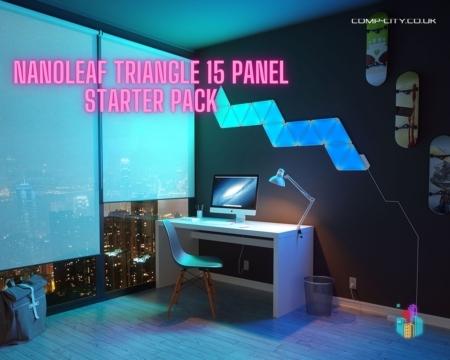 Nanoleaf triangle 15 panel starter pack competition