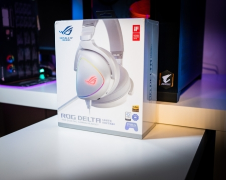Rog Delta Headset