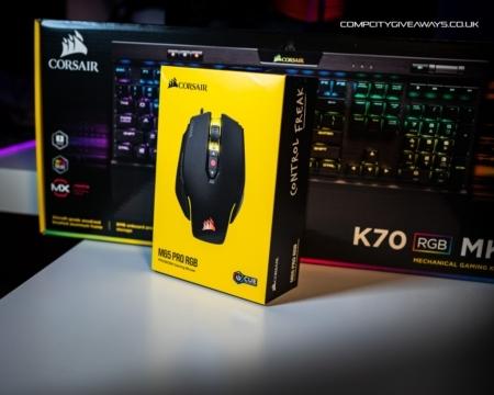 Corsair K70 Keyboard & M65 Mouse