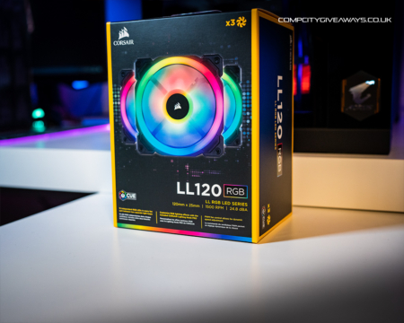 Corsair LL120 iCUE Fan 3 pack competition