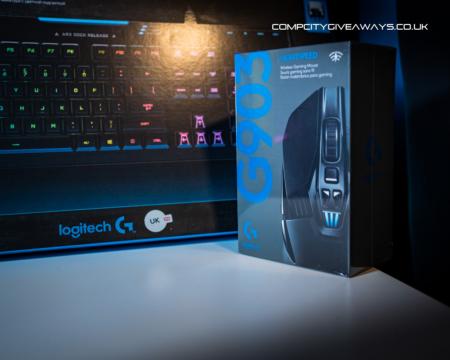 Logitech G910 Keyboard & G903 Mouse