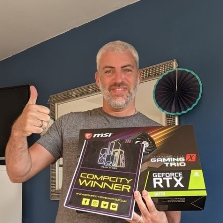 Mike Hannigan RTX 3070 2 CompCity Giveaways