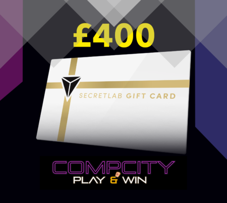 £400 Secretlab Voucher