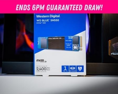 WD Blue SN550 1TB NVMe SSD