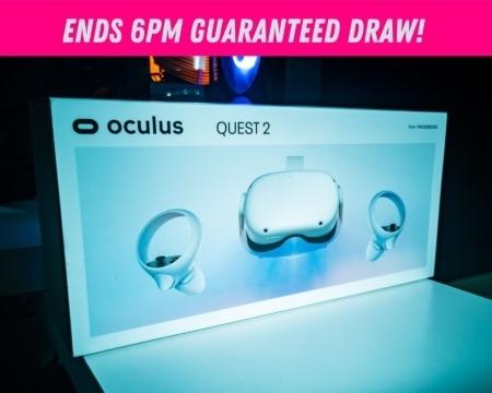 Win an Oculus Quest 2 - 256GB
