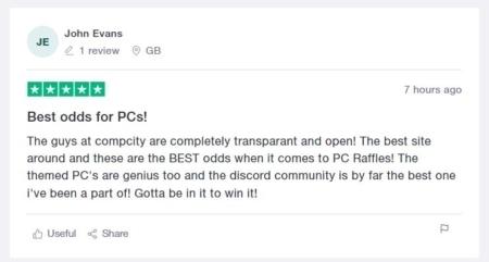 Johns review CompCity Giveaways
