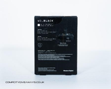 WD BLACK P10 4TB Game Drive