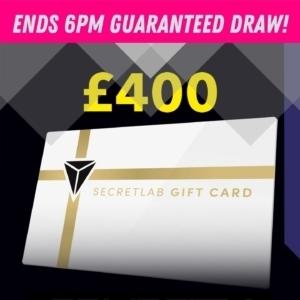 £400 Secretlab Voucher #2