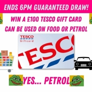 £100 Tesco Gift Card