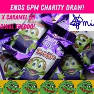 420 x Cadbury Freddo Charity Comp