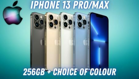Win a IPHONE 13 PRO/MAX 256GB or a £1000 Amazon Voucher