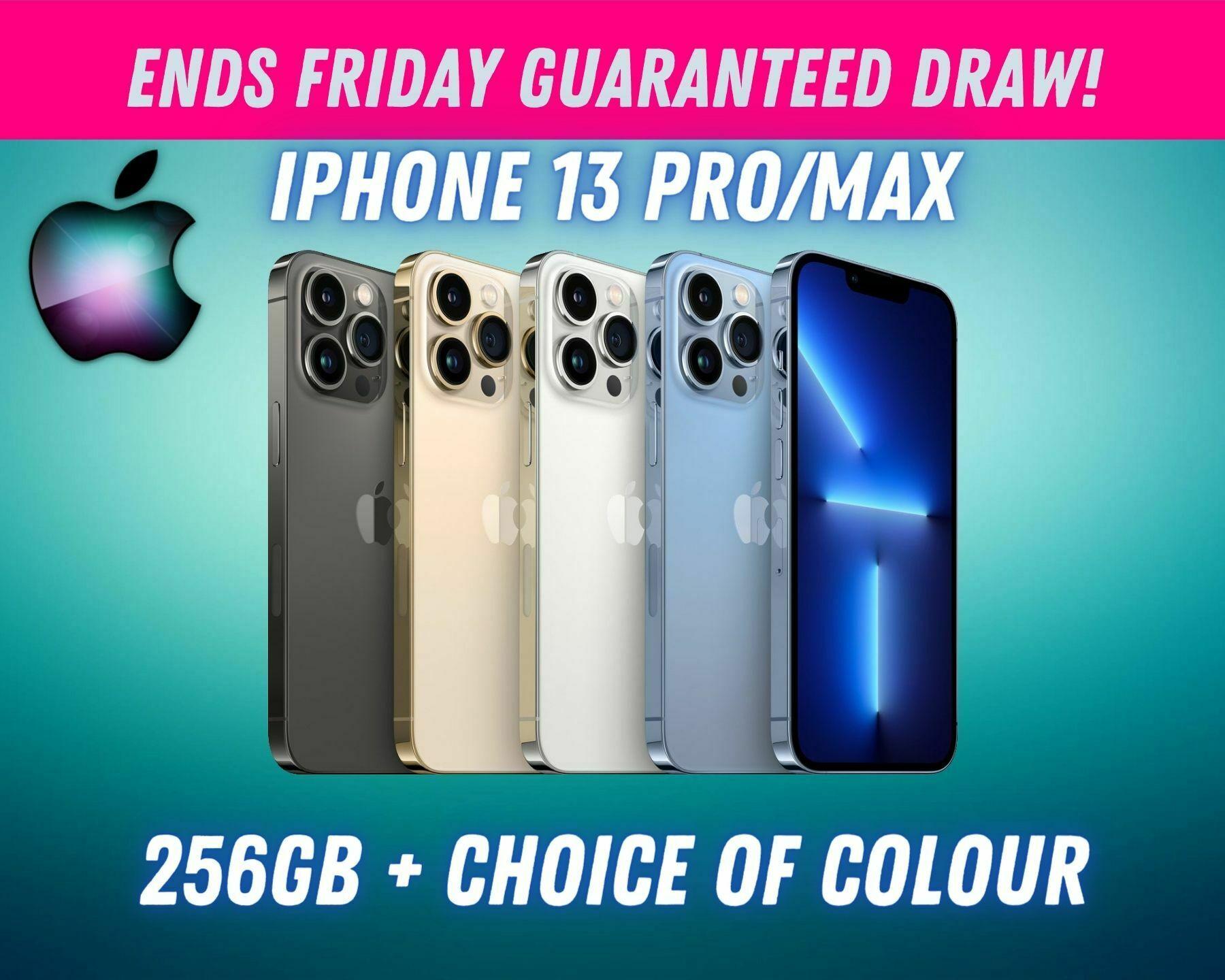 IPHONE 13 PRO/MAX 256GB