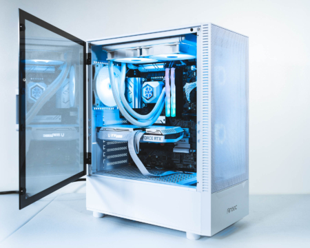 FrostByte RTX 3060 Ti Intel 11600KF WHITE PC