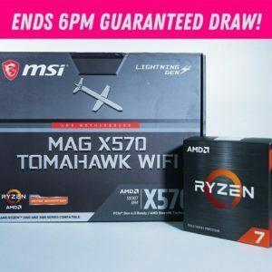 Ryzen 7 5800x & MSI x570 Tomahawk Motherboard Bundle