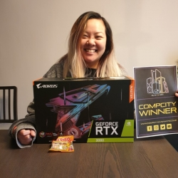 lucy Ung RTX 3080 Master