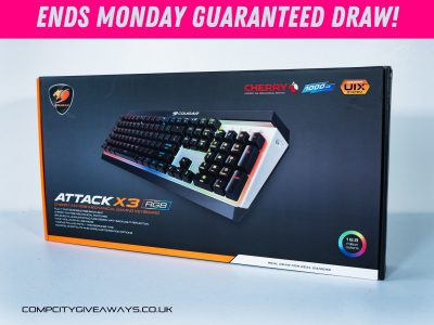 Cougar Attack X3 RGB Mechanical Keyboard